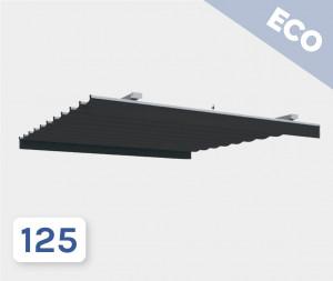 Pergola toile rétractable SUNVISION 2 Eco (Sans Piliers)