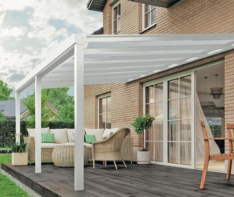 Pergola aluminium toit polycarbonate VISION 1