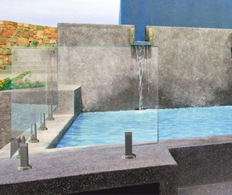 Clôture piscine verre inox DELOS 9