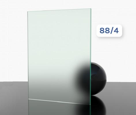 Verre feuilleté trempé SECURIT 88/4 (opaque)