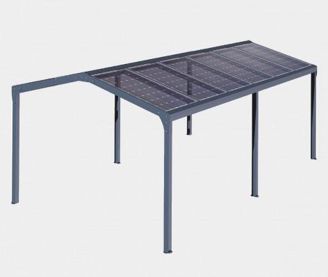 Pergola solaire ORION (Autoportée) 2 pentes