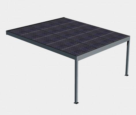 Pergola solaire FUTUR (Adossée)