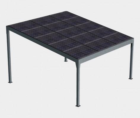 Pergola solaire FUTUR (Autoportée) 1 pente