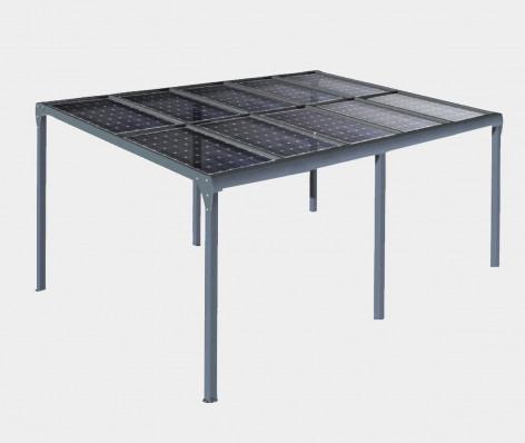 Pergola solaire ORION (Autoportée) 1 pente