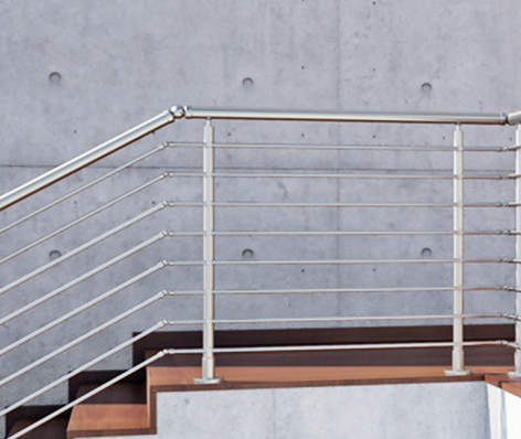Garde-corps escaliers CAPRI 1 (Inox 316)