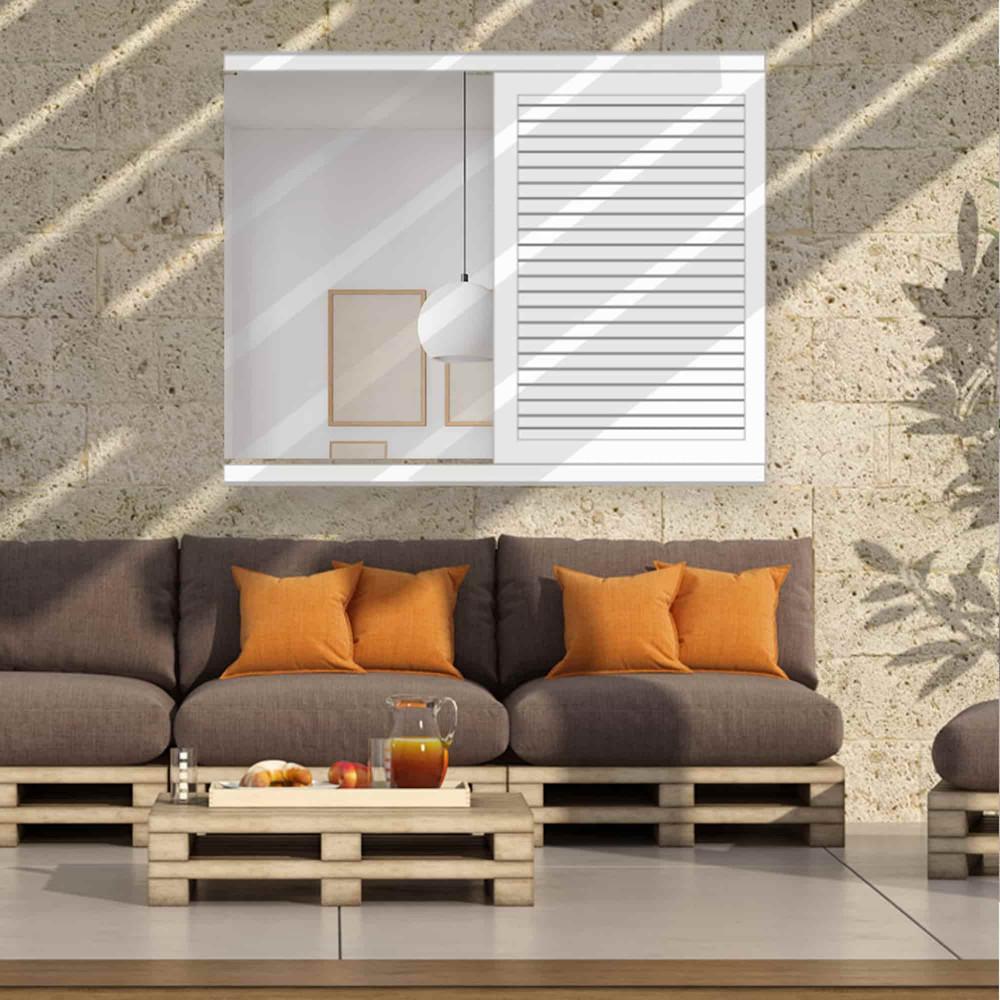 Volet coulissant aluminium faux persienné ECHO (fenêtre)