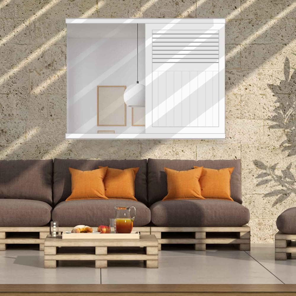 Volet coulissant aluminium faux persienné mixte NILOS (fenêtre)