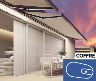 Store banne coffre ANTARES