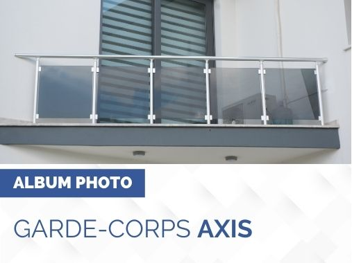 Album photo garde corps AXIS