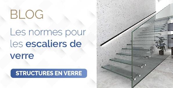 blog normes escaliers verre