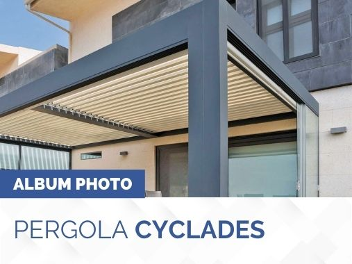 Album photo pergola bioclimatique Cyclades