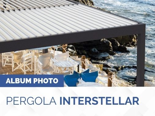 Album photo pergola bioclimatique Intersellar