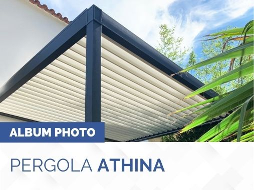 Album photo pergola bioclimatique Athina