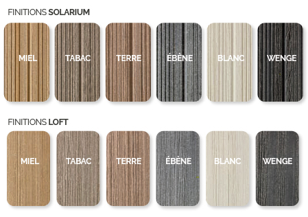 Couleurs plancher greenwood