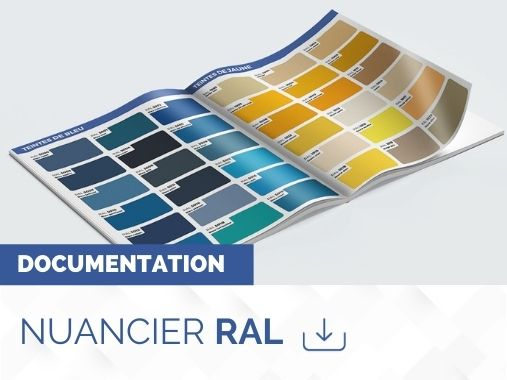 Catalogue nuancier RAL