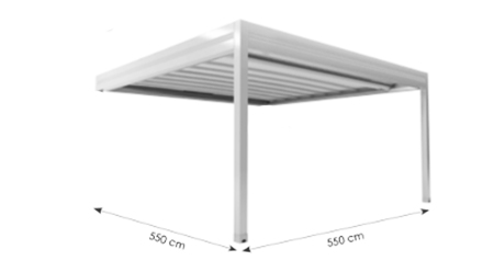 Module simple pergola equinoxe