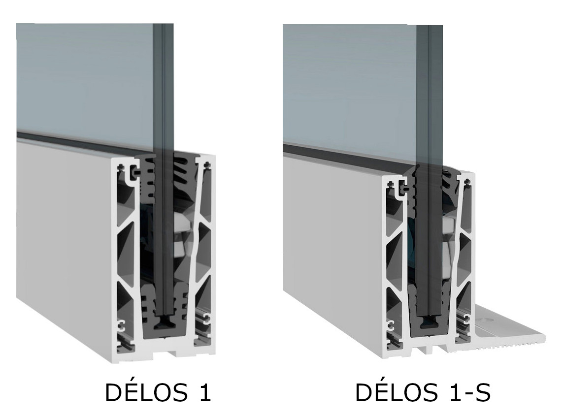 Comparatif DELOS 1 et DELOS 1 S